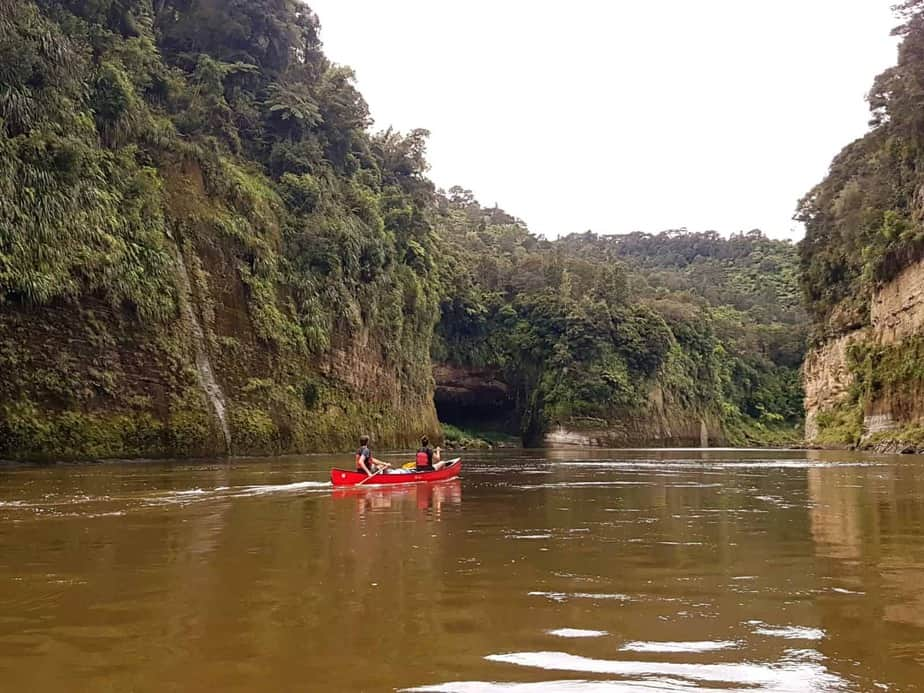 canoeing NZ