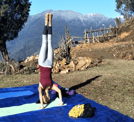 Mardi Himal yoga, Nepal