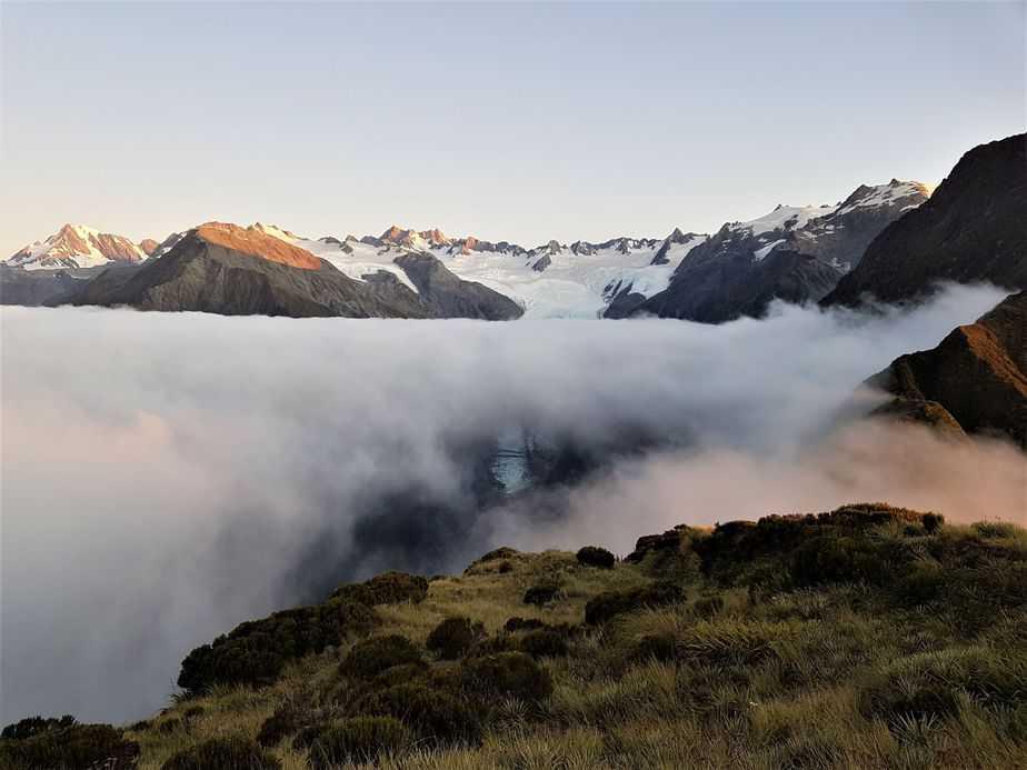 New Zealand Hiking and Camping – Alex Knob Track and Franz Josef Glacier